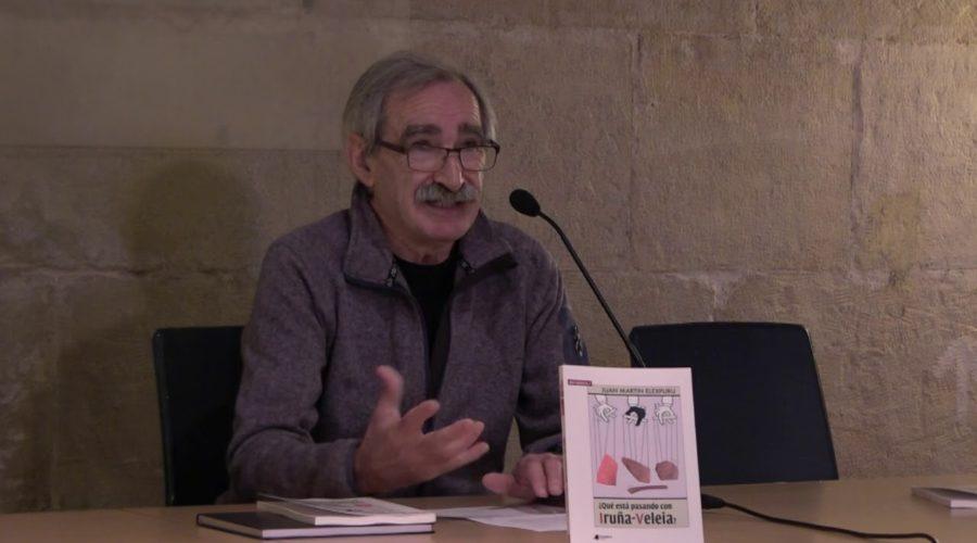 Juan Martín Elexpuru: «Ninguna publicación científica ha dicho que los grafitos de Iruña-Veleia son falsos»