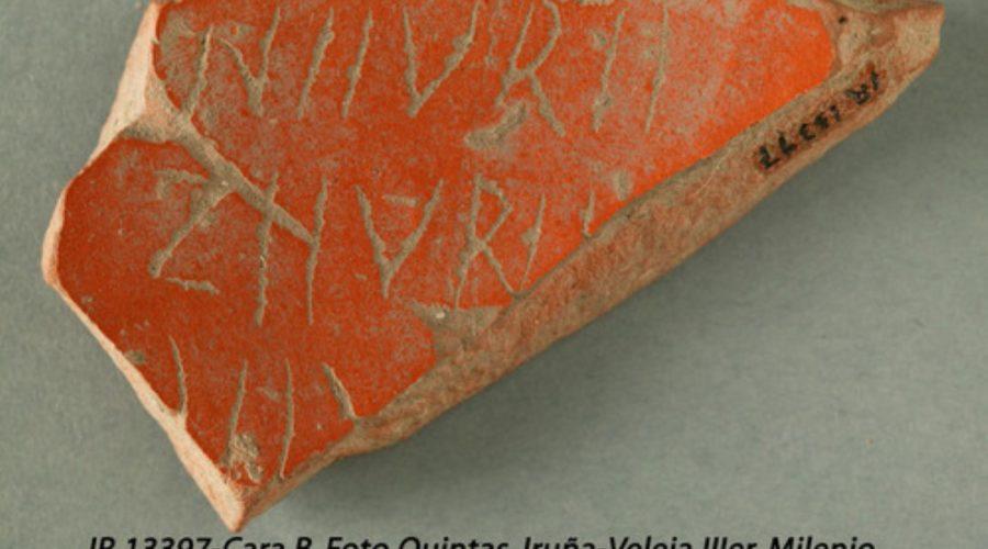 Los tesoros de Iruña-Veleia – El euskera – Palabras aparecidas en nuestro idioma*