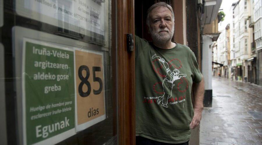 «Me quedaré hasta el final»  /«Azkeneraino segituko dut»  JOSE MARI LEJARDI, 'GABIXOLA'. GOSE GREBALARIA