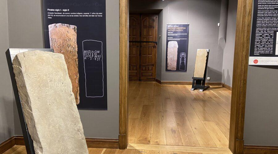 La exposición de lápidas sorianas con textos en euskera se prolonga al 24 de enero y charla